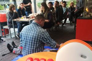 Cafe de Pompier Woerden reanimatie AED trainingkopie
