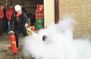 brn brandbeveiliging gemeente woerden brand oefening