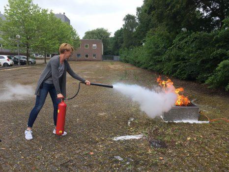 Brandoefening Gemeente Woerden
